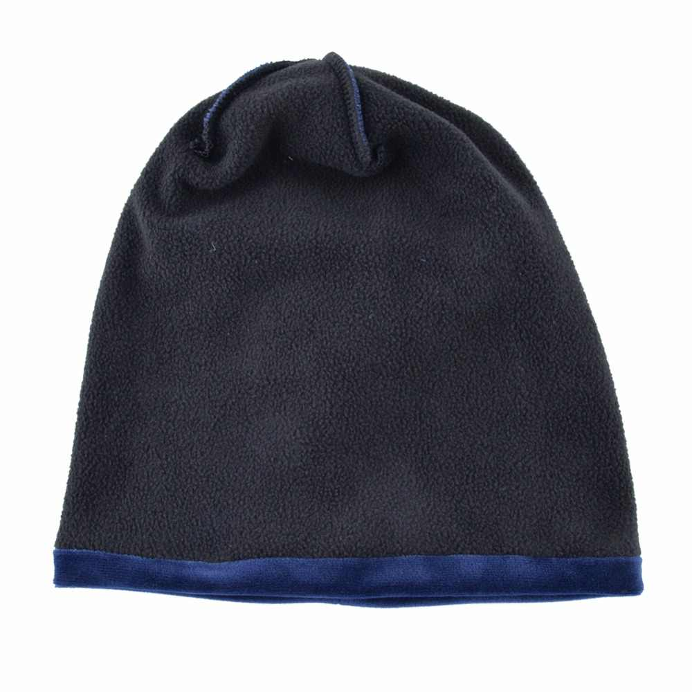 c7b581f9a5006 ... Winter hats for women beanies autumn cap Velvet thick warm hat girls  caps lady Double Layer ...