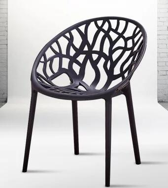 Plastic dining chair. Can be stacked. The home is back chair.. Negotiate chair. Hotel office chair. dining chair the lounge chair creative cafe chair