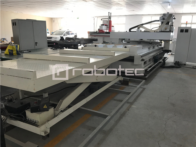 Full Automatic Loading Unloading System Woodworking Cnc Nesting Machines For Sale