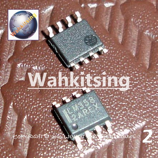 100 PCS LM358DR2G SOP-8 ON LM358D LM358 DUAL DIFFERENTIAL INPUT OPERATIONAL AMPLIFIERS