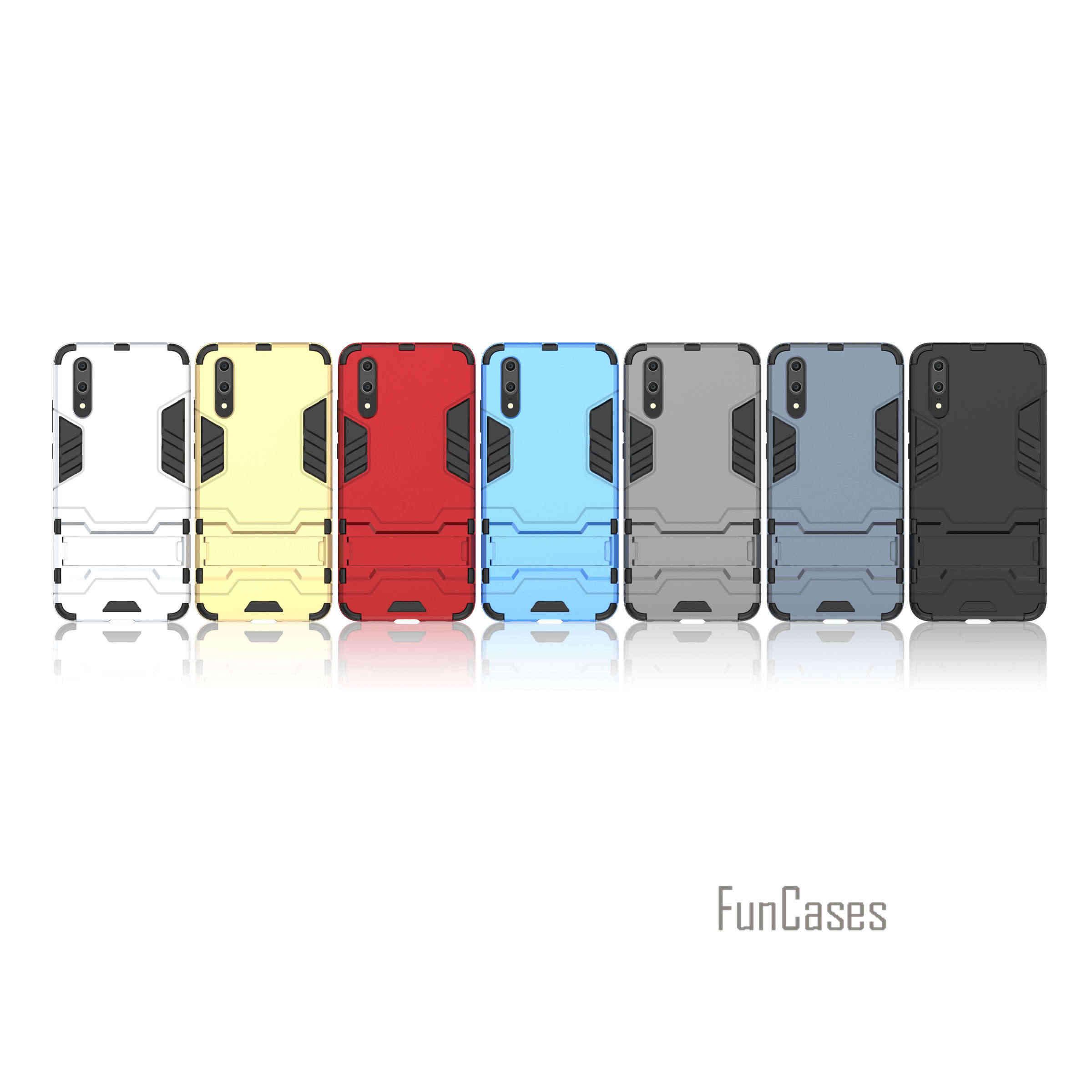 Forte Cassa Del Telefono di Protezione per Huawei P20 Coque Armatura Serie di Sport di Goccia Caso Capa Borsette per Huawei P20 Fundas Posteriore copertura