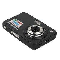 HD Цифровая камера TF карта JPEG AVI CMOS Senor TFT LCD HD 720P ''2,7 18MP Цифровая видеокамера камера 8x Zoom Anti-shake Mini камера