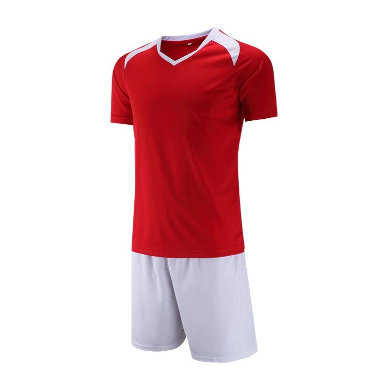 2018 Men Sports Survetement Football Training Suits Adult Soccer Jerseys Sets Breathable Futbol Jersey Tracksuit DIY Customized