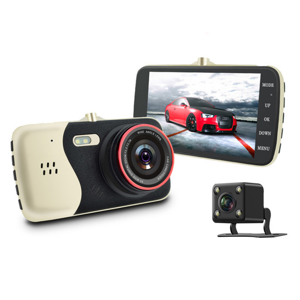 NEW 4.0 Inch IPS Screen Car DVR Novatek NTK96658 Car Camera T810 Oncam Dash Camera Full HD 1080P Video 170 Degree Dash Cam bigbigroad for nissan qashqai car wifi dvr driving video recorder novatek 96655 car black box g sensor dash cam night vision