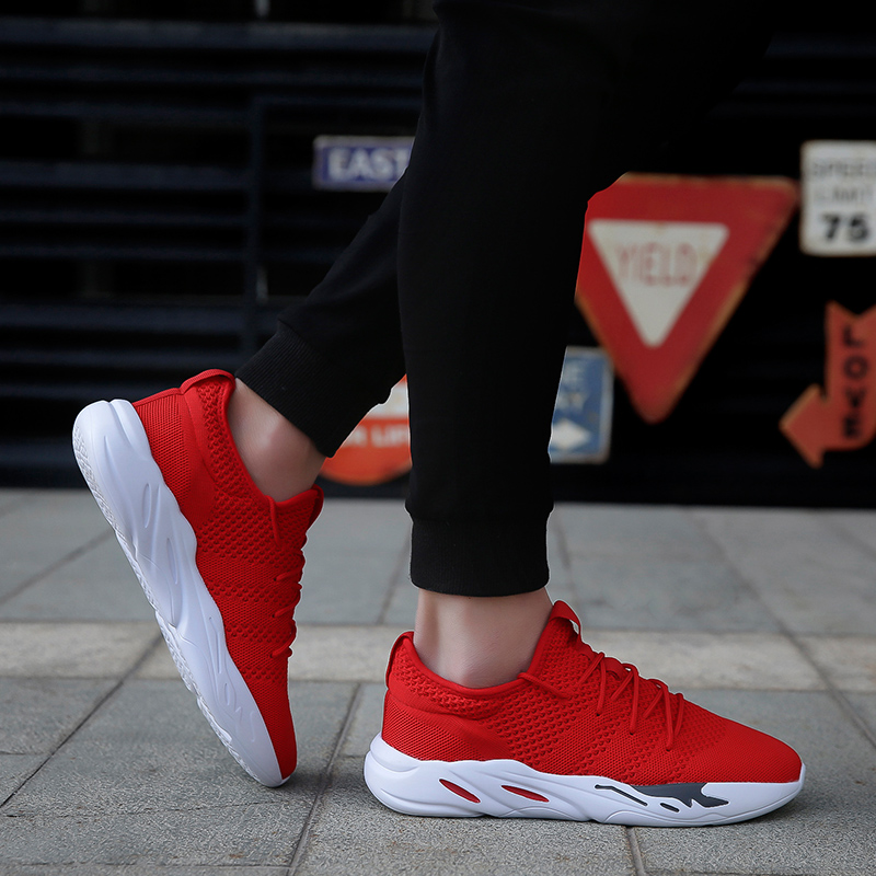 2019 new mesh casual shoes with men 39 s shoes lightweight comfortable breathable hiking shoes in Men 39 s Casual Shoes from Shoes