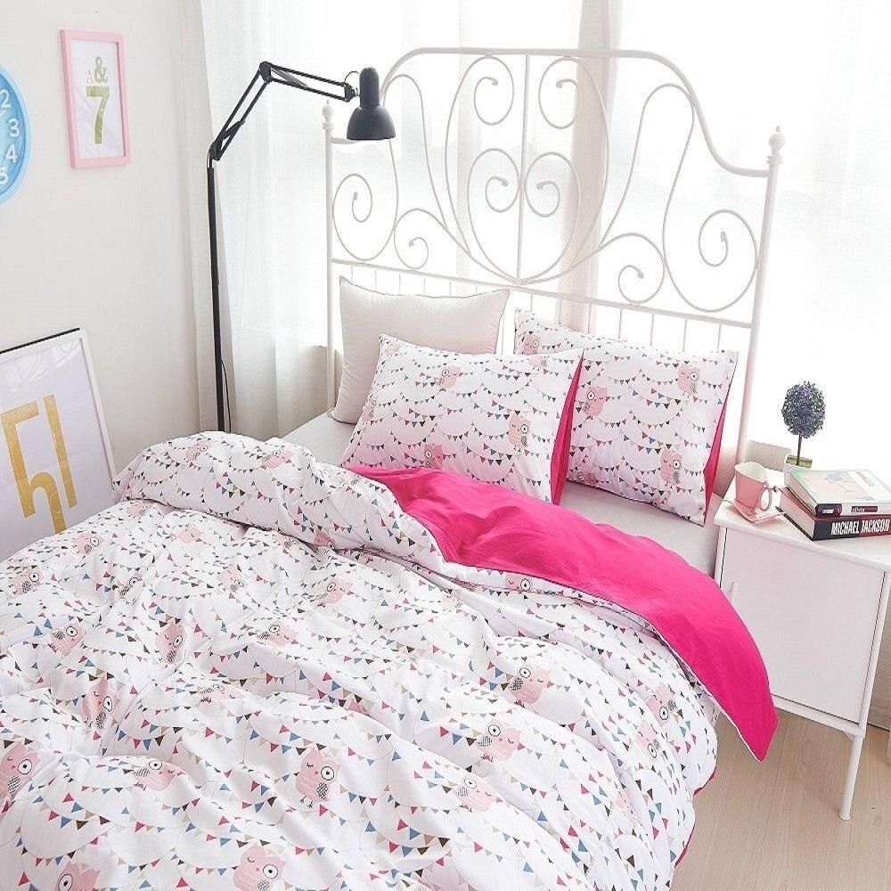 achetez en gros hibou housse de couette en ligne des. Black Bedroom Furniture Sets. Home Design Ideas