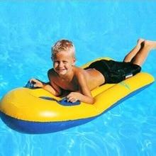 Super-Elastic Floating-Plate Surfboard Inflatable Swimming Laps Children Senior