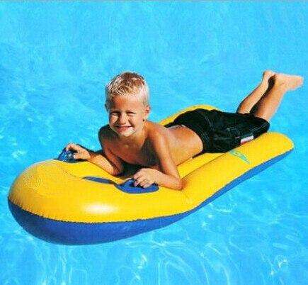 2016 nouveau, super-élastique gonflable Principal plaque flottante, jouets de bain, enfants de natation tours, lit flottant planche de surf