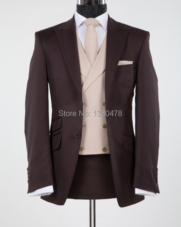Popular Chocolate Brown Suits for Men-Buy Cheap Chocolate Brown