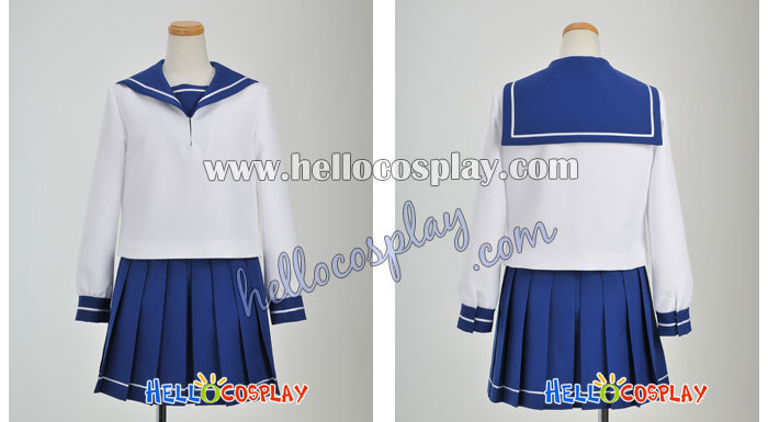 Nura: montée de l'uniforme fille Cosplay du Clan Yokai H008 - 2