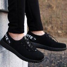 Men's sneakers breather big size 5.5-11.5 designer vulcanize shoes anti-smashing anti-piercing safety work shoes man