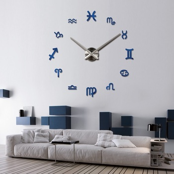 new fashion diy wall clock europe 3d big quartz watch clocks living room large home decorative still life circular stickers 16