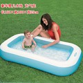 Luxcy Ocean inflatable children's pool, outdoor summer baby Outdoor Fun & Sports Inflatable Toys paddling pool