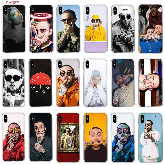 Lavaza Mac Miller Malcolm McCormick Hard Phone Case for Apple iPhone 6 6s 7 8 Plus X 5 5S SE Cover for iPhone XS Max XR Cases