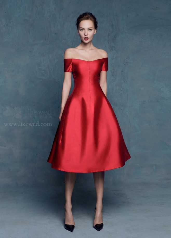 Popular Short Red Prom Dress-Buy Cheap Short Red Prom Dress lots ...
