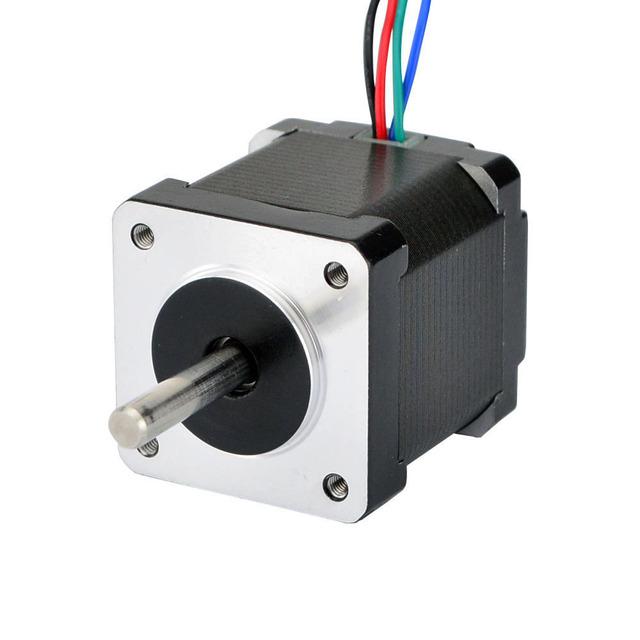 Nema 14 Stepper Motor 42mm 23Ncm(32.6oz.in) 0.5A 4-lead Nema14 Step Motor for DIY CNC 3D Printer Motor