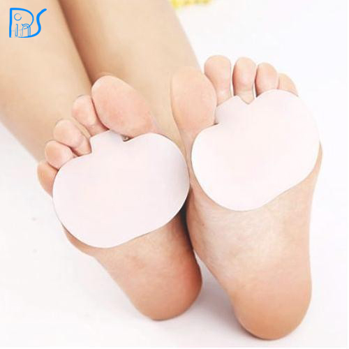 feet care gel metatarsal pad with ball of foot to cushion and orthotics fit in any shoes