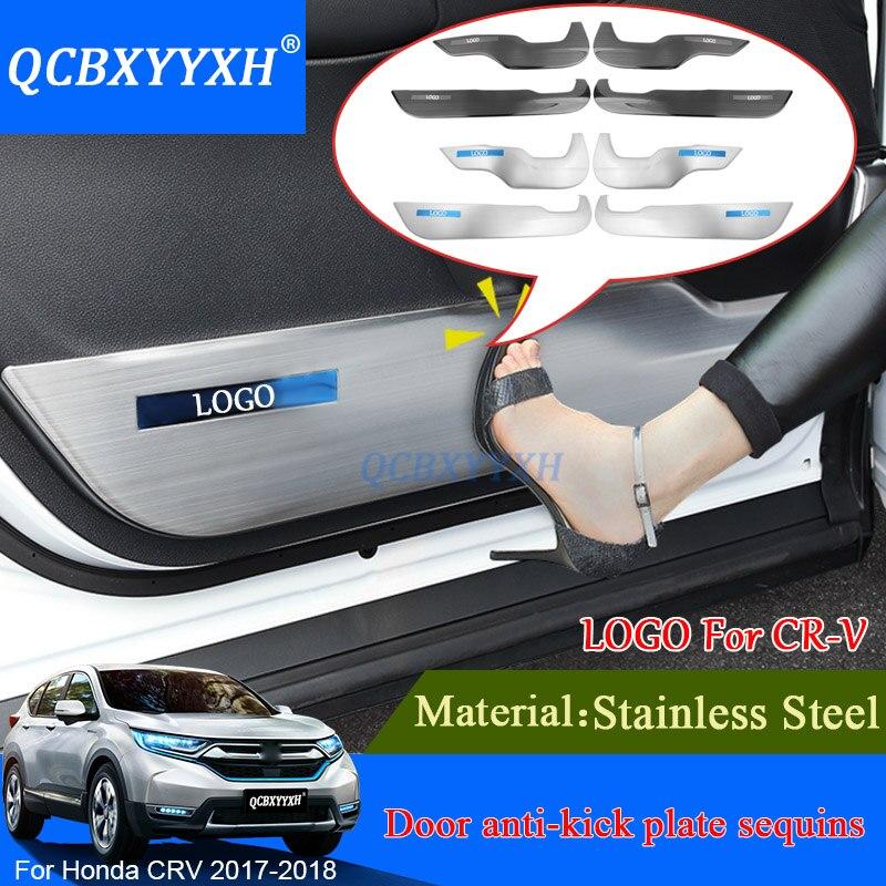 Crv 2017 Interior >> 4pcs Car Styling For Honda CRV CR V 2017 2018 Car Door ...