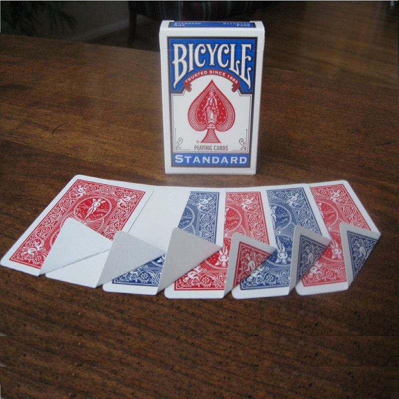 1 Deck Bicycle Gaff Magic Variety Pack Playing Cards Magic Cards Special Props Close Up Stage Magic Trick for Magician Free Ship