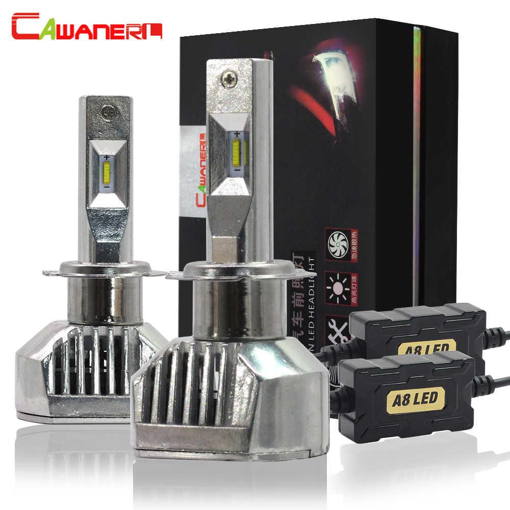 Cawanerl H1 H3 H4 H7 Автомобильный светодиодный фар 100 Вт 12000LM 6000 K H8 H11 9005 9006 9012 9007 H13 H15 D1S D2S D3S D4S автоматического включения света фар
