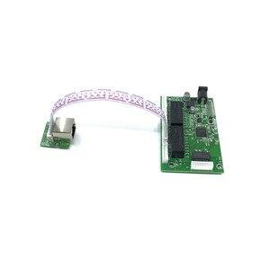 Image 5 - OEM PBC 8Port Gigabit włącznik ethernet 8Port z 8 pin way nagłówek 10/100/1000m centrum 8way power pin płytka drukowana OEM otwór na śrubę