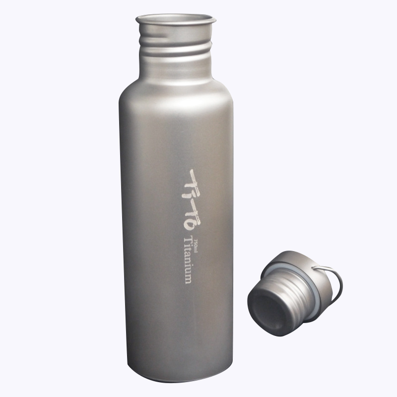 Tito Titanium Bottle Bicycle Drinkware Bottle Outdoor Camping Cycling Hiking Sport Bike Titanium Lid 750Ml Titanium Bike BottlTito Titanium Bottle Bicycle Drinkware Bottle Outdoor Camping Cycling Hiking Sport Bike Titanium Lid 750Ml Titanium Bike Bottl