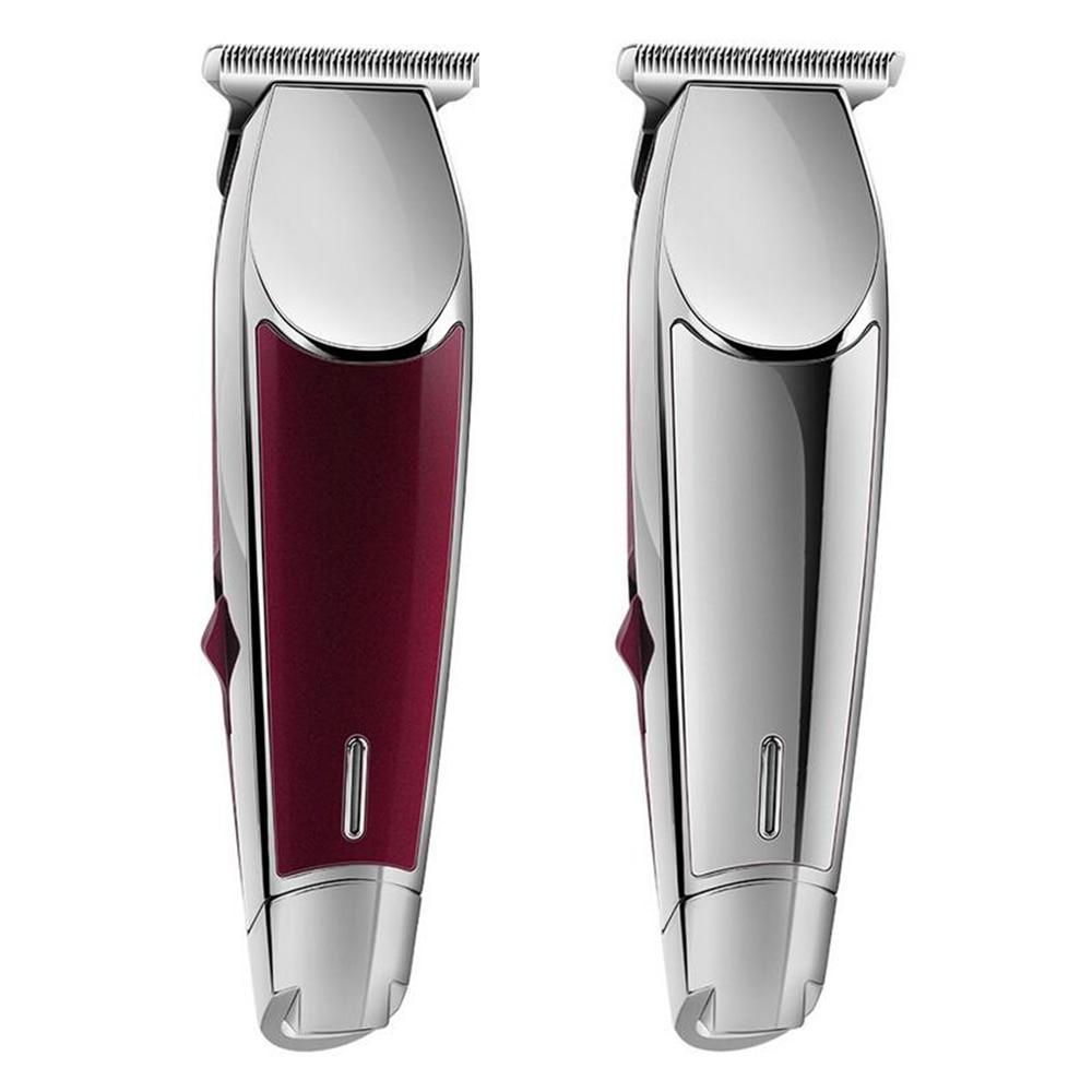 Professional Precision Hair Clipper Rechargeable Electric Hair Trimmer 0 1mm Cutting Baldhead Shaving Haircut Machine Salon