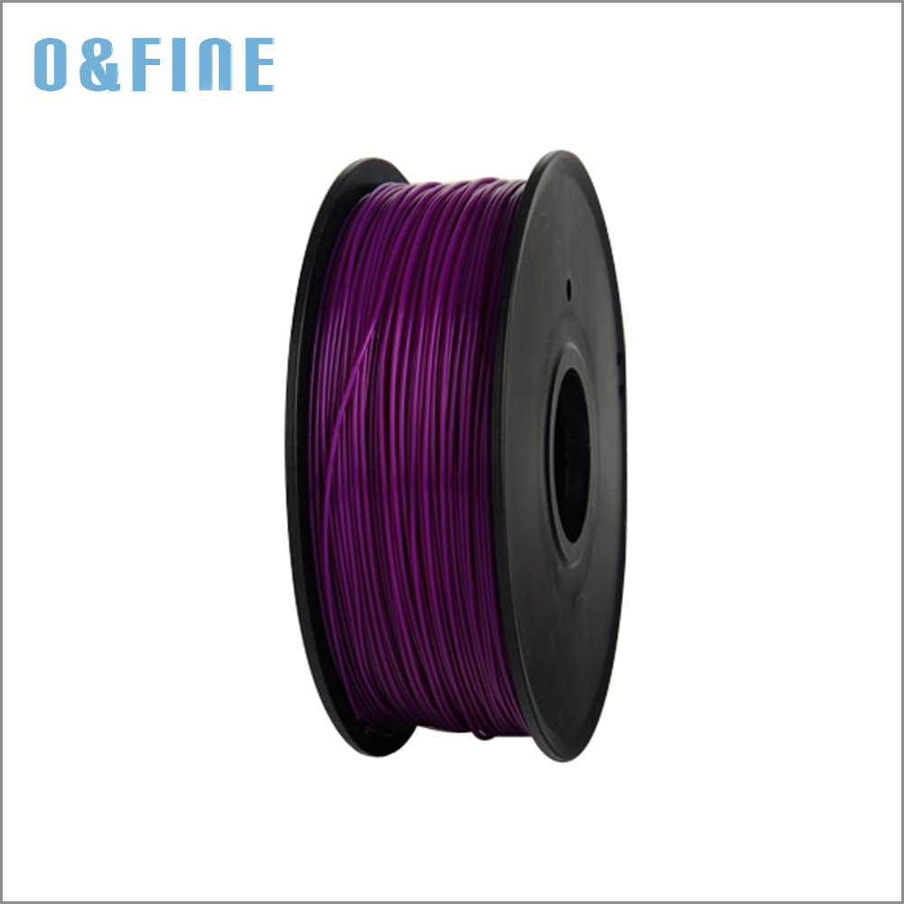 ФОТО PLA 1.75mm 2.2Lb 1Kg/spool3D Printer Filaments  Refills for MakerBot/RepRap/UP purple