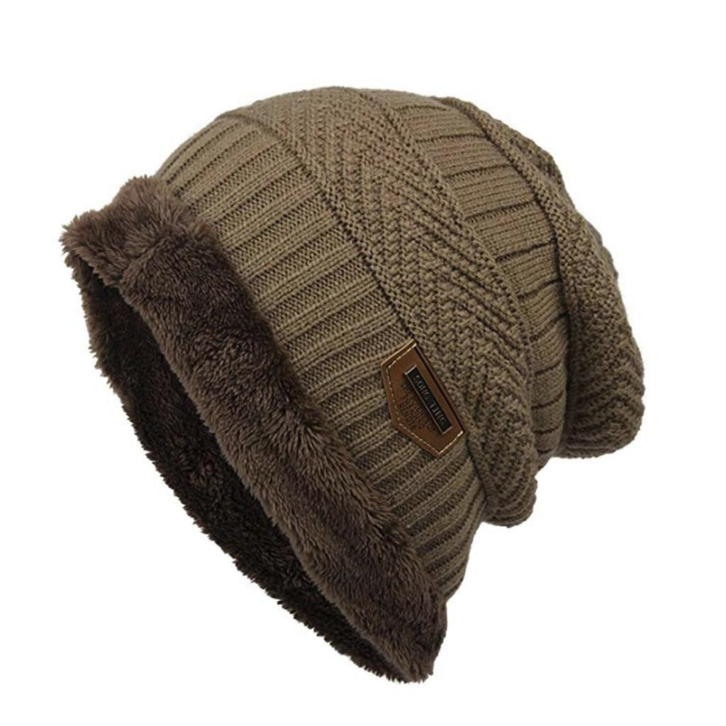 68a7b906a6c HTB1o5RwXZ vK1RkSmRyq6xwupXaD - Fashion Fleece Contrast Colors Knitted Warm  Winter Hats For Women Men gorro sombrero