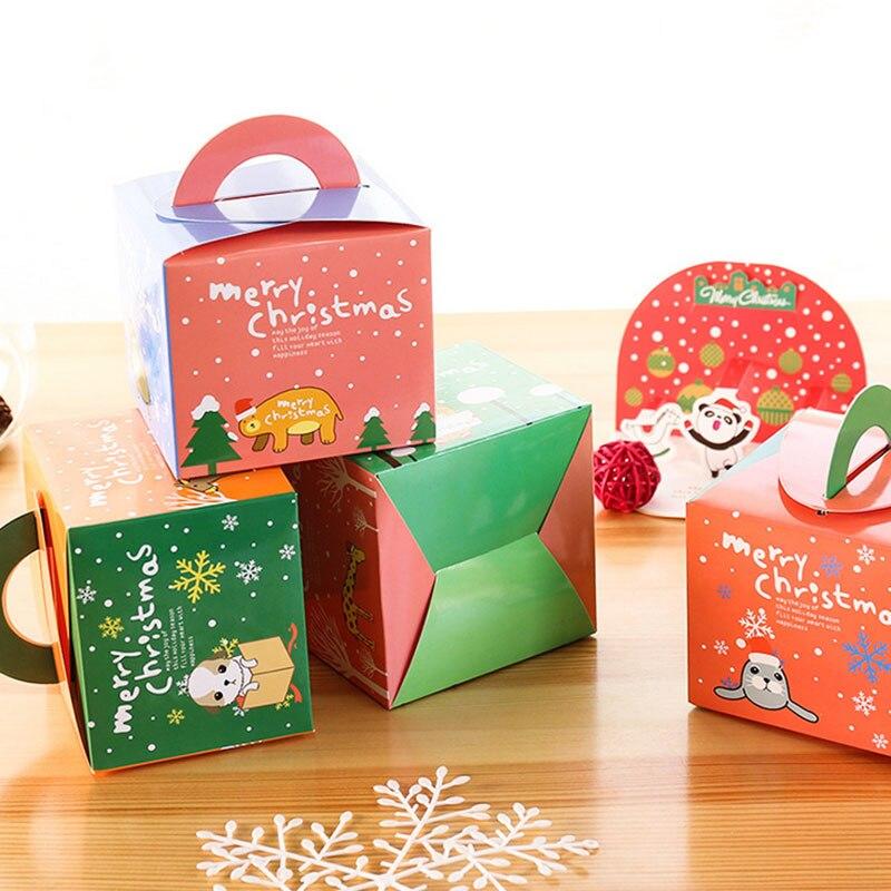 caja de regalo para la navidad