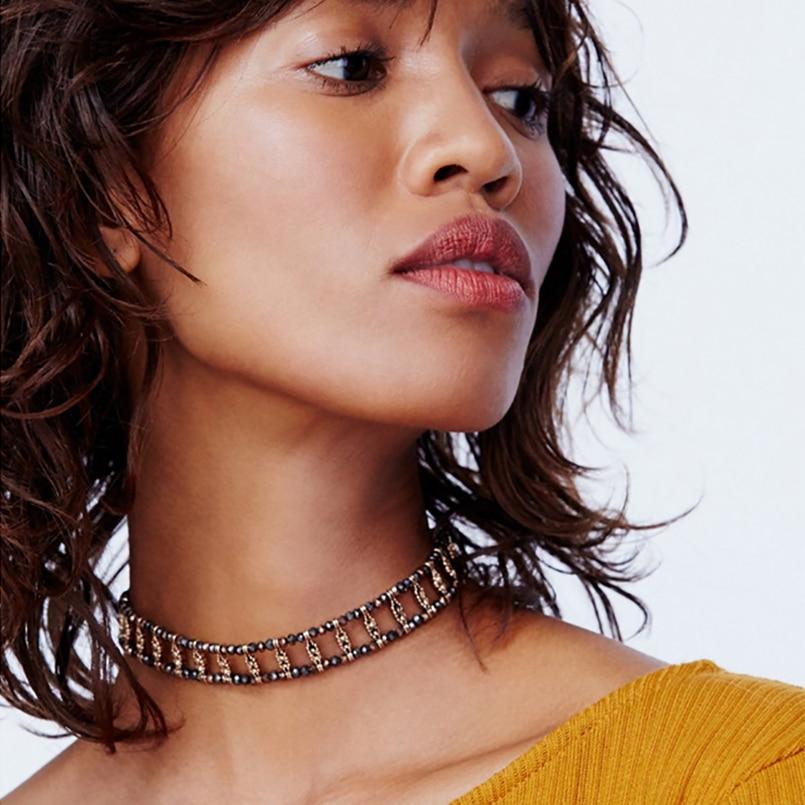 crystal choker neklace women fashion jewelry handmade necklace colar feminino collier ras de cou gargantilla