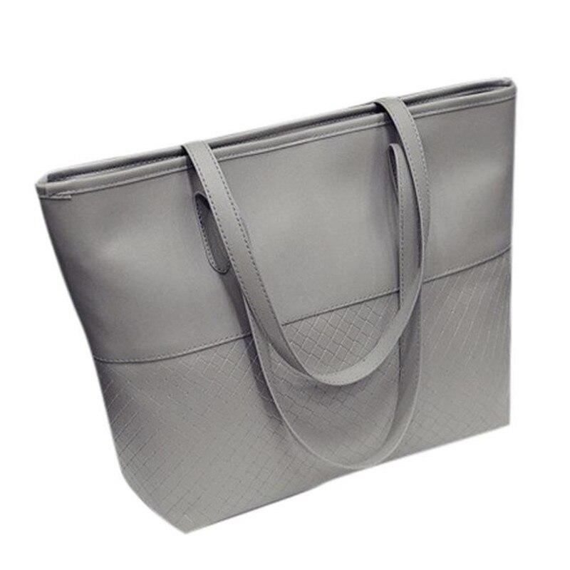 OCARDIAN 2018 neuen stil weiblichen handtasche mode raster qualität PU leder weibliche schulter tasche Mar 23