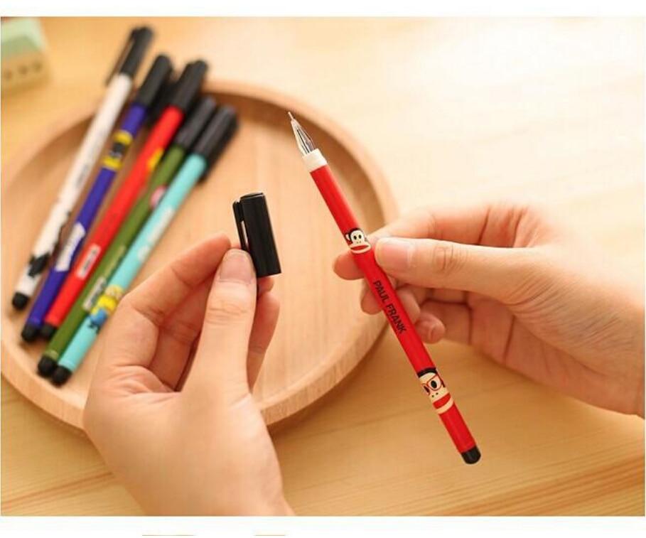 new cute cartoon kawaii diamond tip anime gel pens for gifts