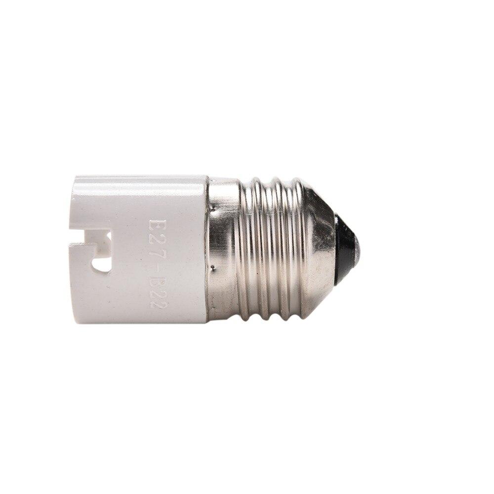 Plug Extender Lampholder E27 To B22 Base Socket LED Halogen Light Lamp Bulb Adapter Converter Holder 1PCS