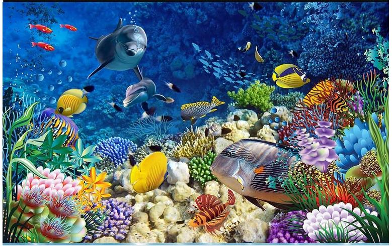 3d wallpaper custom 3d flooring painting wallpaper room murals 3d underwater dolphin floor tile floor painting 3d photo wallpaer 3d flooring underwater murals hd coral 3d floor wallpaper for bedroom walls vinyl floor wallpaper 3d for children room