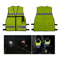 2015 Reflective Safety Vest With Multi Pocke Free Shipping