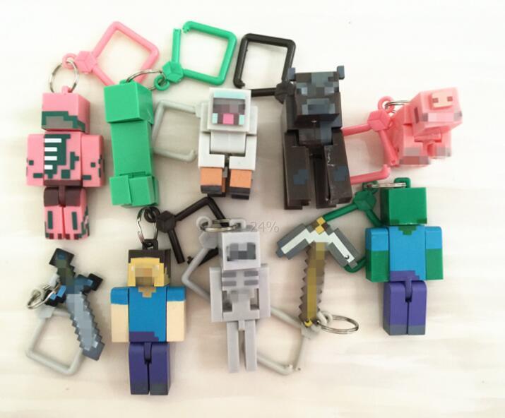 Mining Toys For Boys : Aliexpress buy hot pcs set minecraft toys