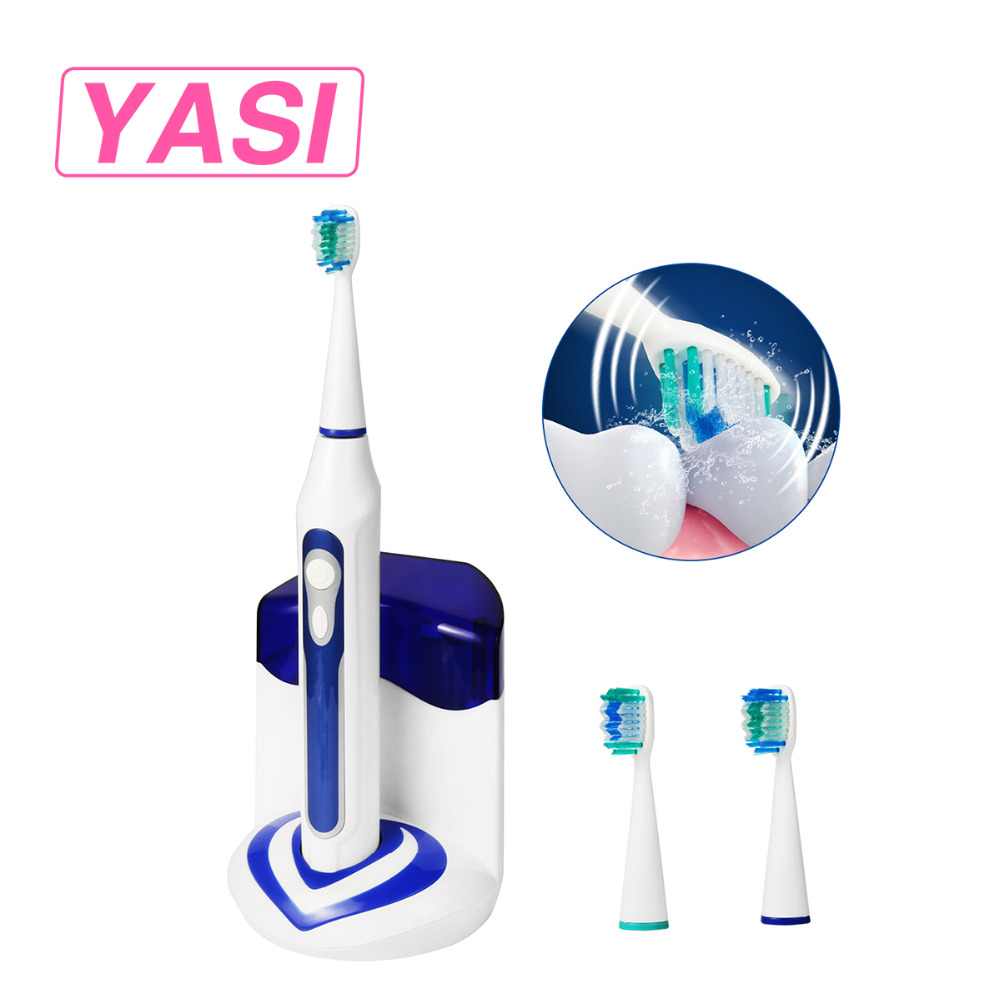 YASI FL-A12 Ultrasonic Sonic Electric Rechargeable Toothbrush Adults UV Sanitizer Sterilizer Sonicare Toothbrush Man/Women 50pcs new uv germicidal sanitizer replacement bulb for philips sonicare hx6150 hx6160 hx7990 hx6972 hx6011 hx6711 hx6932 hx6921