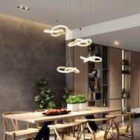 Нве висит деко DIY Современные светодио дный светодиодные подвесные светильники для столовой кухня комната бар подвесной светильник suspendu по