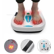220 В Электрический вибратор, массажер для ног, инфракрасная акупунктура, теплотерапия, расслабляющий массажер для разминания усталости, забота о здоровье
