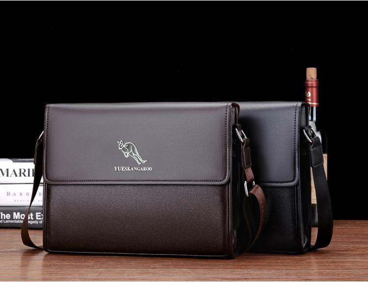 Briefcase leather Last YUESKANGAROO 5