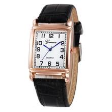 Women Casual Checkers Faux Leather Quartz Analog Wrist Watch High Quality Women Luxury Watch Ladies Clock reloj mujer Hot Sale4*
