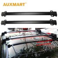 Auxmart Car Roof Rack Bar For Jeep Compass 2011 2016 Roof Rails Racks Cross Bars Boxes