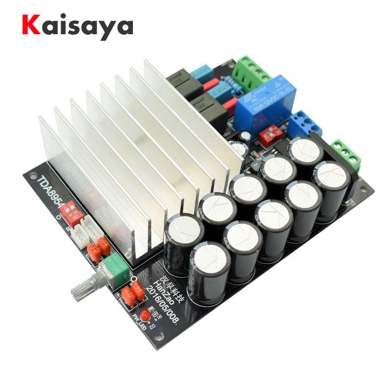 Ultra TDA8950 TDA8954 210 W + 210 W 2,0 nach zwei kanal Klasse D digital HIFI fertig Power Verstärker board D4 001-in Verstärker aus Verbraucherelektronik bei  Gruppe 1