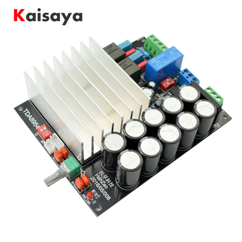Ultra TDA8950 TDA8954 210W + 210W 2.0 after two-channel Class D digital HIFI finished Power Amplifier board D4-001 package post 2 1 power amplifier board finished digital d class 3 channel bass fever class hifi quality support mp3 module