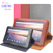 8.4 inch Folding Premium PU Leather Cover flip for Chuwi Hi 9 Pro Case 360 Degree Protector For CHUWI Hi9 Pro Tablet Stand Cases планшетная батарея chuwi vx8 3g chuwi vx8 battery