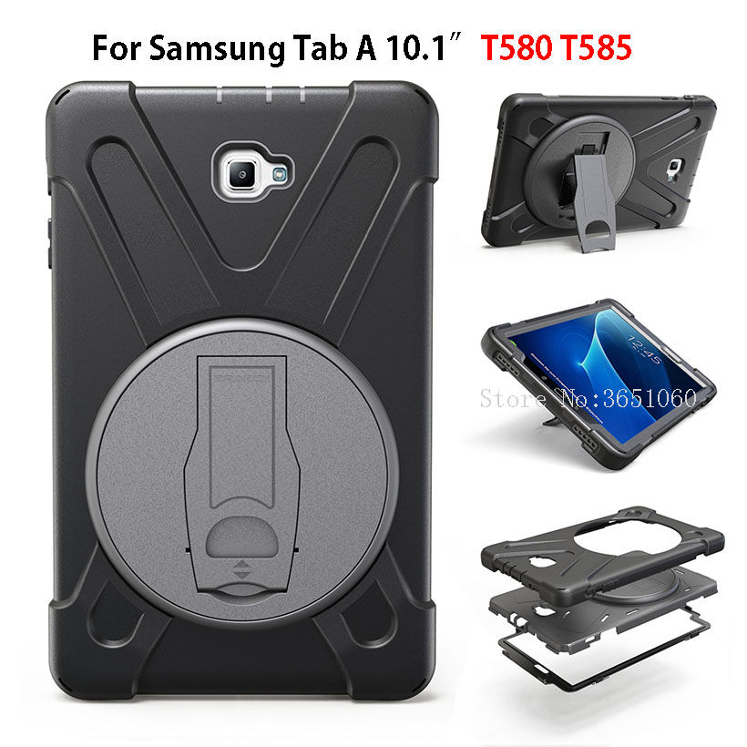 Case For Samsung Galaxy Tab A A6 10.1 2016 SM-T580 T585 T580 Cover Shockproof Kids Protector Heavy Duty Silicone Hard Shell