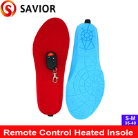 New Remote control heated Insole outdoor sports,outside working,old people gift,foot warmer,winter keep warm,free shipping