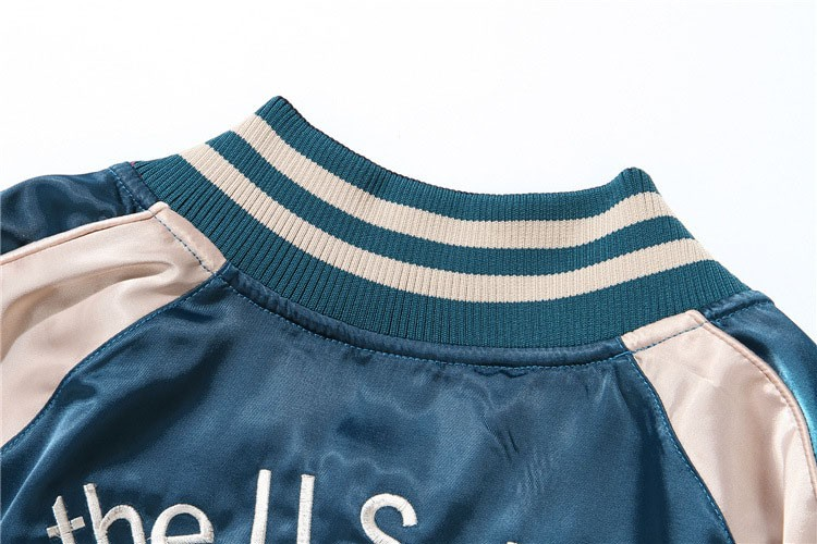Aolamegs Japan Yokosuka Embroidery Jacket Men Women Fashion Vintage Baseball Uniform Both Sides Wear Kanye West Bomber Jackets (12)