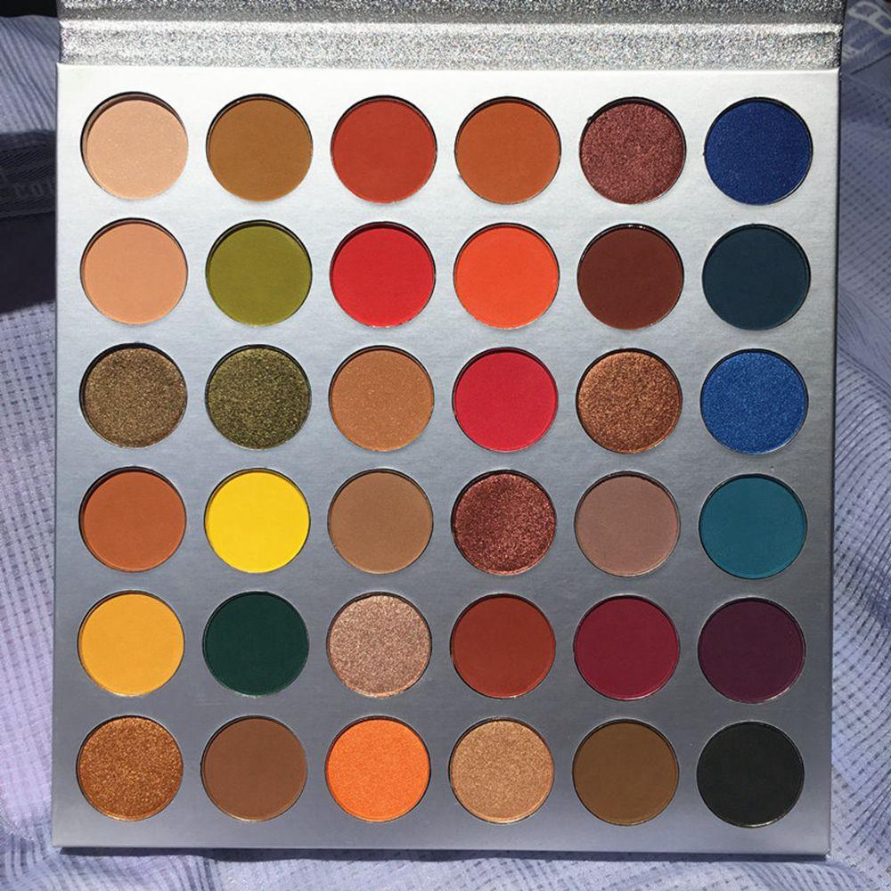 36 cores cosméticos compõem paleta de olhos fosco brilho brilho natural nude profissional oculares completo profissional maquiar